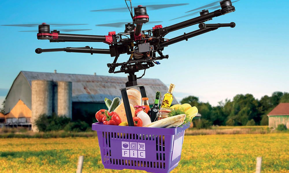 The online market for fresh produce and ornamental plants is growing.