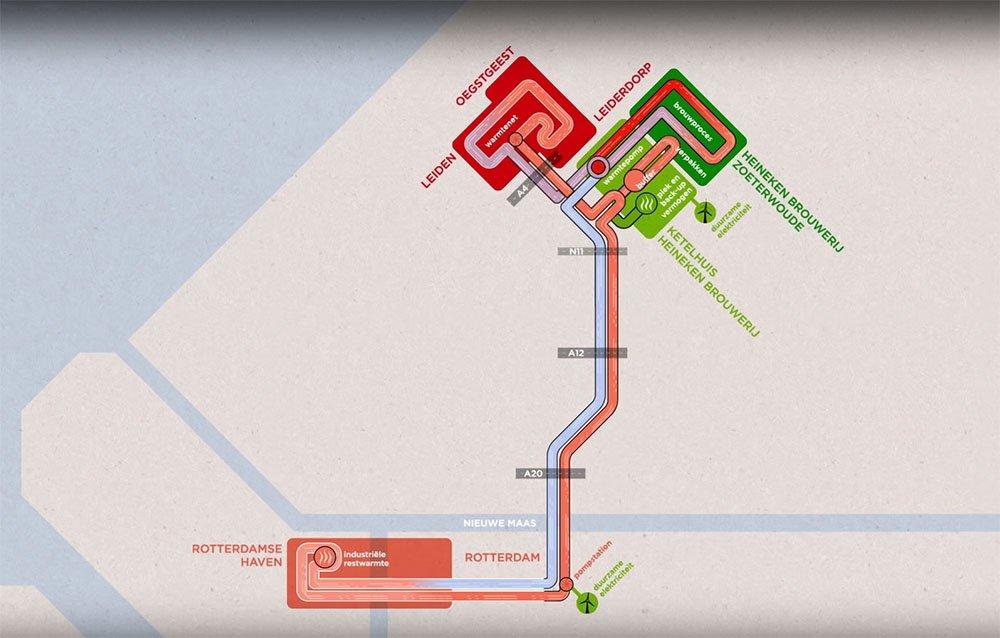 Zuid-Holland heat hub one step closer