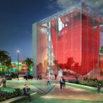 Artist Impression of FloriWorld Experience Centre