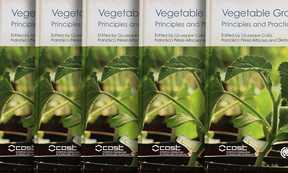 "A group of experts have now compiled all the available knowledge in this area in a book called ""Vegetable grafting: principles and recent practices""."