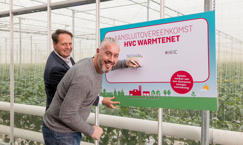 Residual heat for greenhouses in Heerhugowaard