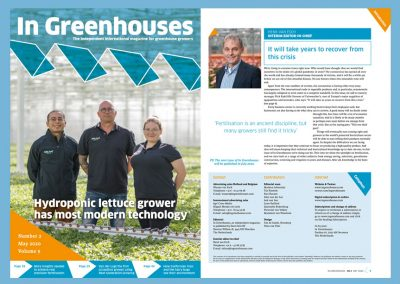 In Greenhouses May issue free for all to read online